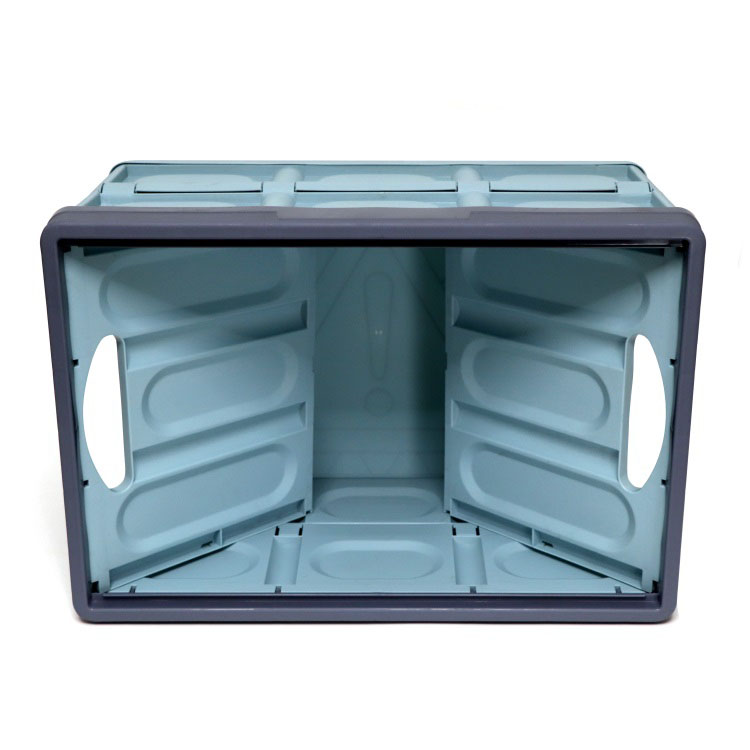 Home outdoor vehicle use collapsible storage box <strong>plastic</strong> with lid
