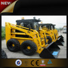 Hot sale chinese mini skid steer loader with trencher