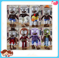 Wholesale Custom Multi Choice Stuffed Plants vs Zombies Plush Toys With Different Decoration