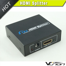HDMI Splitter 1-In to 2-Out for Dual Display v1.3b 1440P