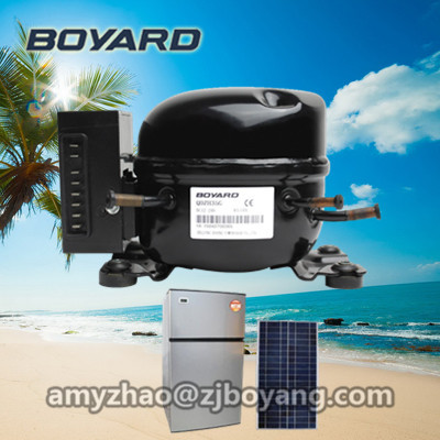 dc 12v fridge <strong>compressor</strong> for portable solar beverage refrigerator