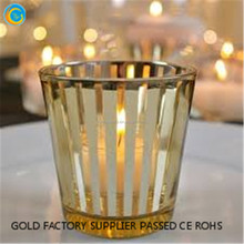 candelabra glass votive holder engraved candle holder