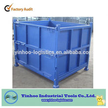 promotional new product galvanized steel box pallet for long time use