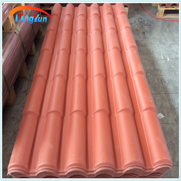 Alibaba PVC material roof tiles portugal popular / tiles of portugal