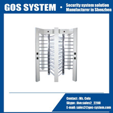 china factory price security gate electronic full height turnstile