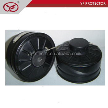 Chemical Military Respirator Gas Mask Filter