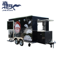 JX-FS350 Mobile fast food vending hot dog concession trailer/mobile food car