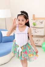 Beautiful Chevron white Dress special occasions girls cotton dresses 2012 new design