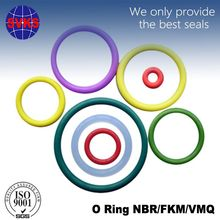 Soft silicone rubber o ring cord 5mm rubber cord