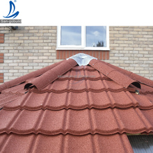 Colorful Lightweight Sand Coated Steel Roof / Stone Coated Steel Roofing Sheet / Stone Coated Roof Tile Material
