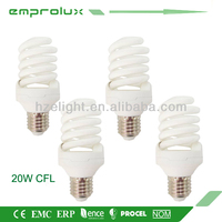 Energy Saving Light T2 Full Spiral 20W E27 Wall Light CFL Lamp Bulb
