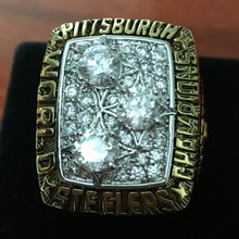 1978 Pittsburgh Steers super bowl replica football rings championship