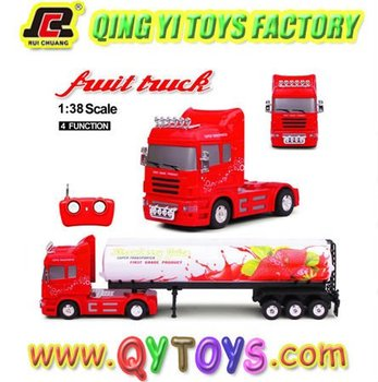 New 1:38 rc heavy fruit truck