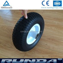 13inches pu solid tyre wheelbarrow pu foam wheel