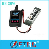Simple easy fast 2-3S Lipo battery charger B3AC 20W