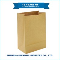 Safety And Health kraft fruit bag/grocery paper bag/ food paper bag