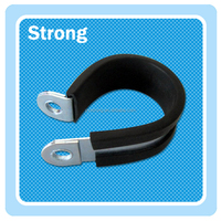Chinese factory EPDM rubber coated sleeve pipe clamps with low price
