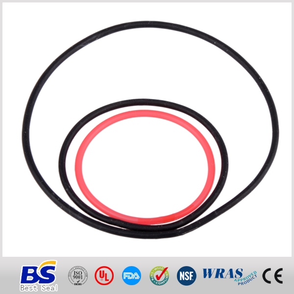 High temperature resistant rubber seal for wooden door