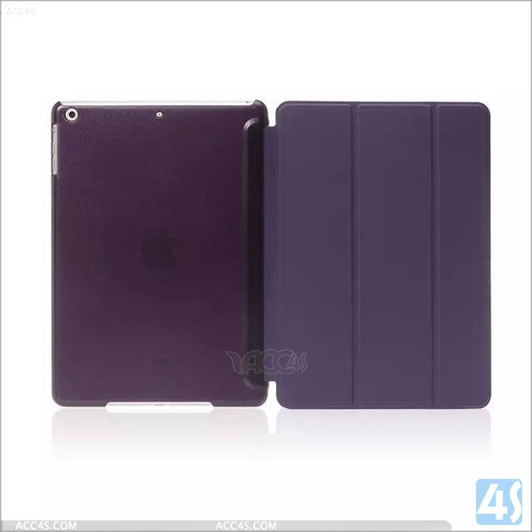 Folding Stand Smart Cover Case PU Leather Tablet PC Cases for iPad Air 2 for iPad 6
