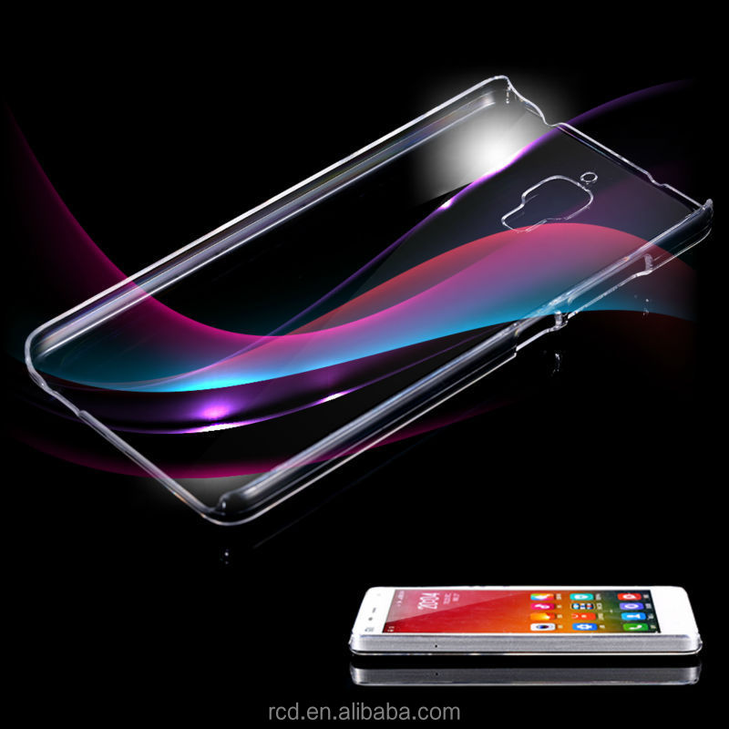 PC Hard Plastic Transparent Clear Crystal Case Cover For Ximomi 4, Clear Case For Xiao Mi MI 4
