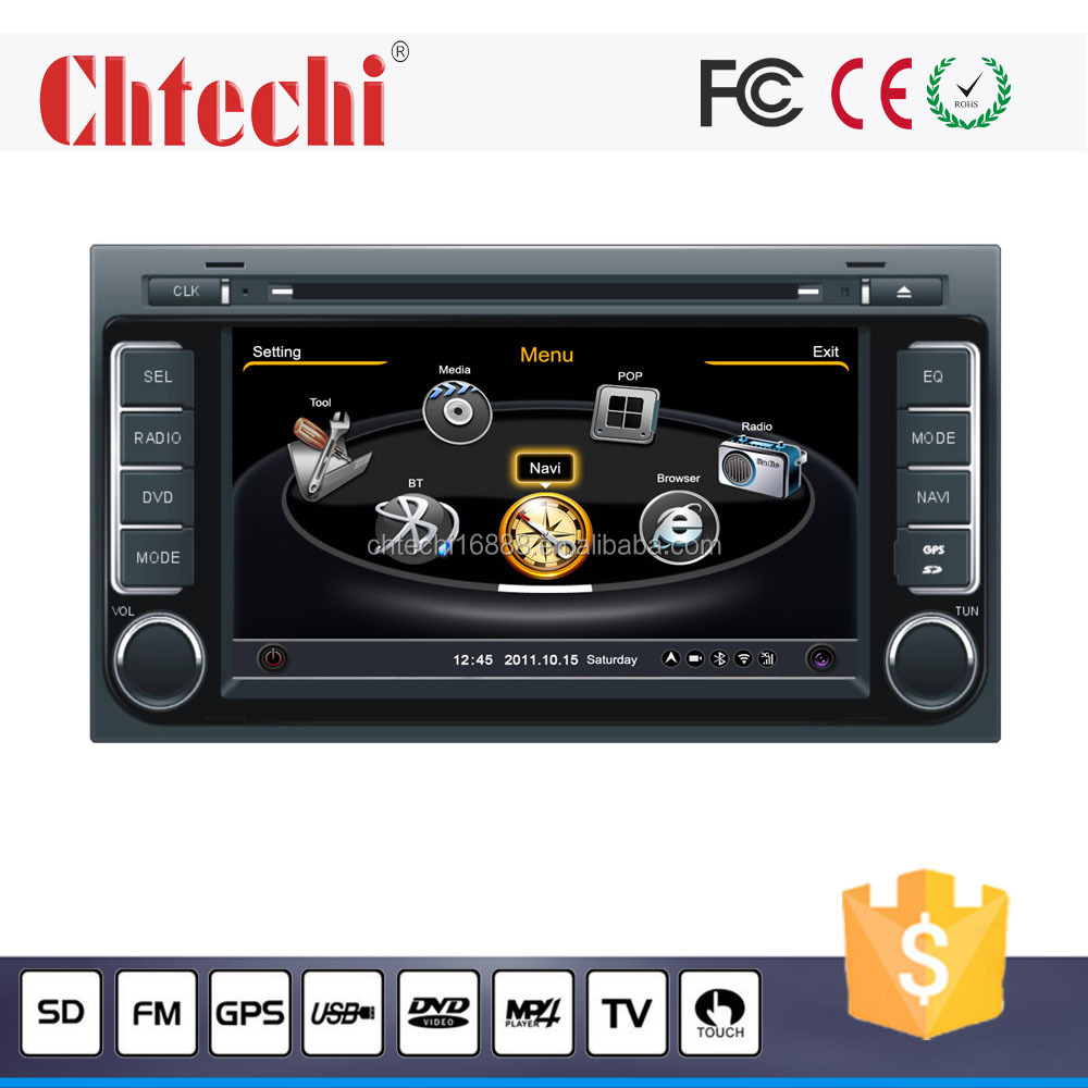 Special model car dvd for Volkswagen Touareg car dvd navigation with Vehicle gps multimedia player am/fm music mp3 play