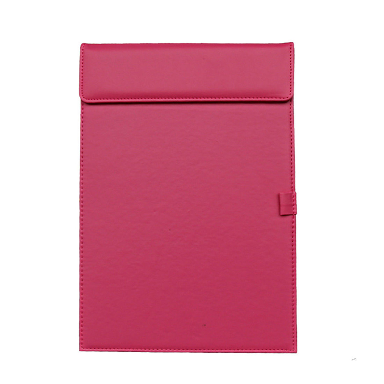 Custom logo hotel note pu leather cover memo pad houder