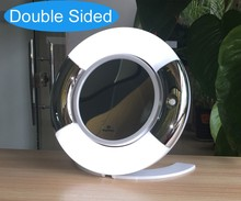 5x led vanity mirror with folding stand
