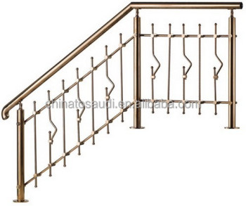 Beautiful Wrought Iron Staircase manufacturer W20