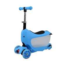 YouPai wholesale new flashing three wheels mini micro cool baby toddler scooter for kids
