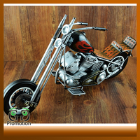Antique Metal Carft Motorcycle Model for Home Decoration and Businiess Gifts