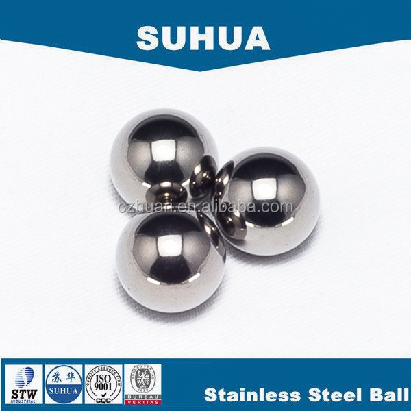"G1000 19.05mm 3/4"" stainless steel ball for food bearings supplier"