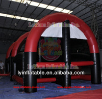 New inflatable football game/foosball inflatable en14960