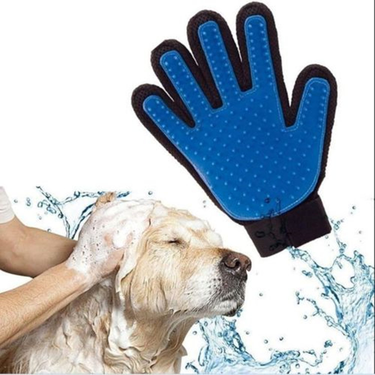 True Touch Pet Cat Dog Bathing Hair Remover Deshedding Pet Grooming Brush