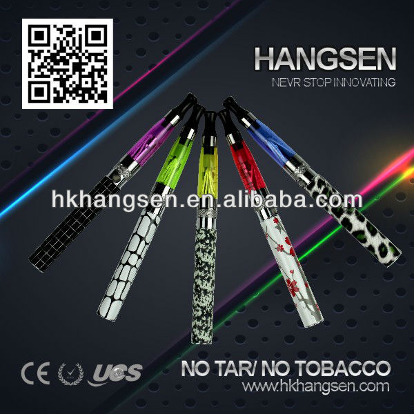 Hangsen max vapor electronic cigarette - high quality Echo-DJ kits with ce5 atomizer and ego battery