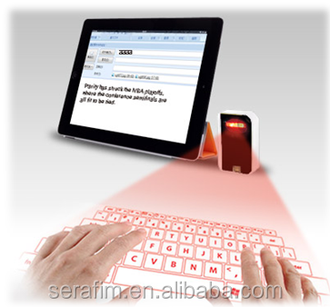2015 Good Keyboard Printer Projection Bluetooth Laser keyboard for iPad , for iPhone6, for tablet pc , for laptop
