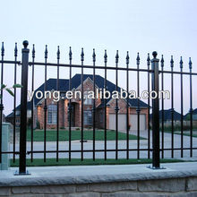 Have ISO certificated design house simple iron grill gate