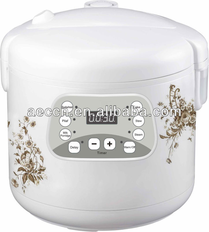 2016 new design cooker LD22 Multi cooker with 24 hours delay timer, cooking time adjustable,9 functions