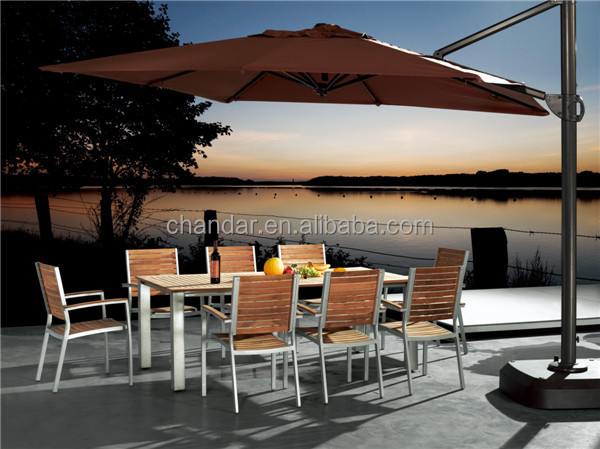 CH-H14 polywood dining table set furniture outdoor