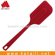 Edible Kitchen Tools Food Grade Silicone Spatula With BV certificate For Different Uses