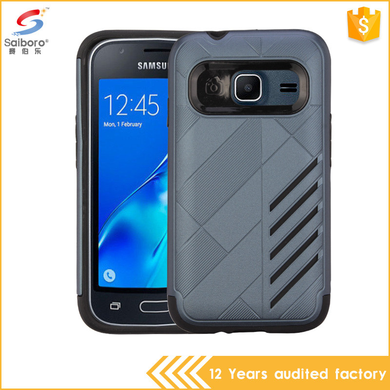 Attractive appearance tpu pc phone case for samsung galaxy j1 mini