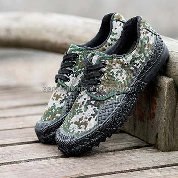 Manufacture Military Labor insurance Site camouflage outdoor Training Work shoes