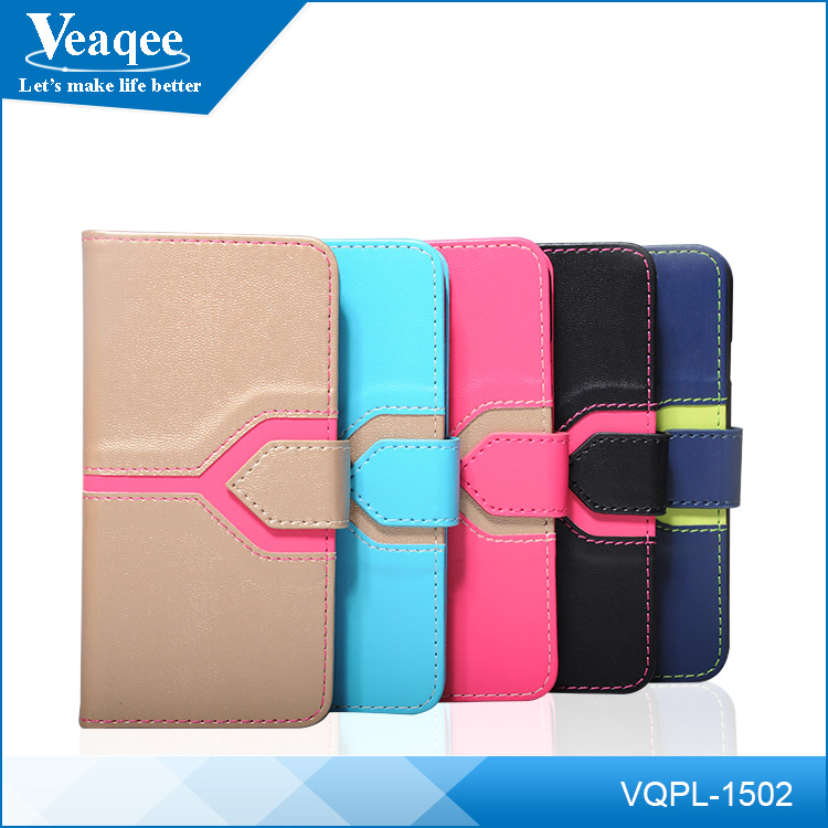 Veaqee universal smart phone wallet style leather case,wallet phone case,universal phone case