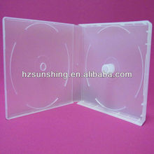 plastic multi stackable cd vcd dvd discs case for movie