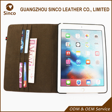 Waterproof multifunctional design flip tablet pc case cover with wallet for ipad 3