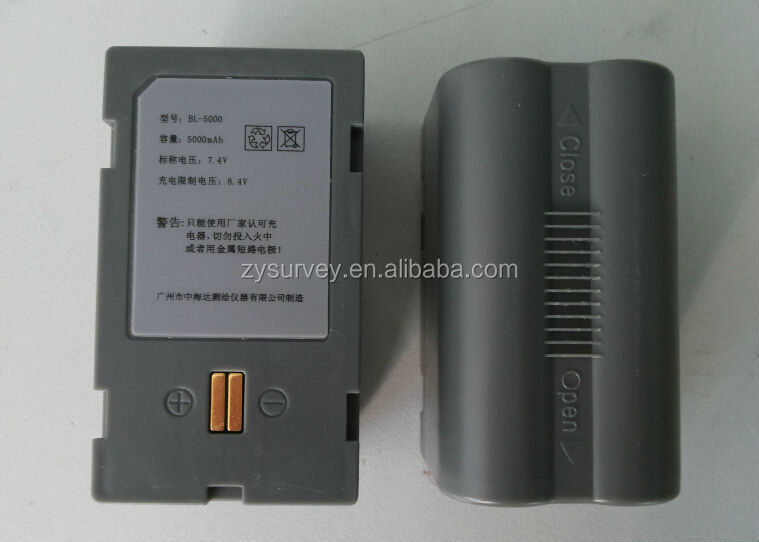 Hi-target BL-5000 battery with Li-ion 7.4v 5000mah worked for V30,F61,V50,F66 GNSS RTK GPS total station