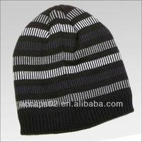 black knitted hat for men