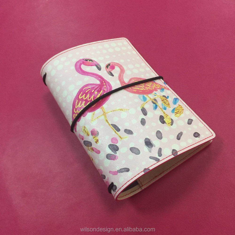 pvc leather binding tape note book diary cover