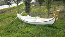 5 meter wooden gondola boat for 4 person