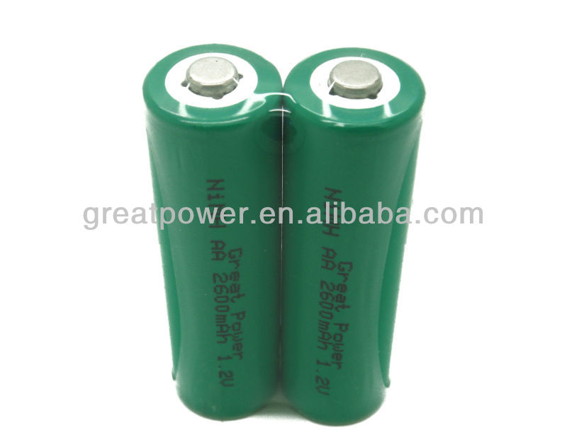 High Capacity Good Quality 1.2V AA 2600mAh Rechargeable NIMH Power Tools Battery, Electric Toys Battery, Camera Battery