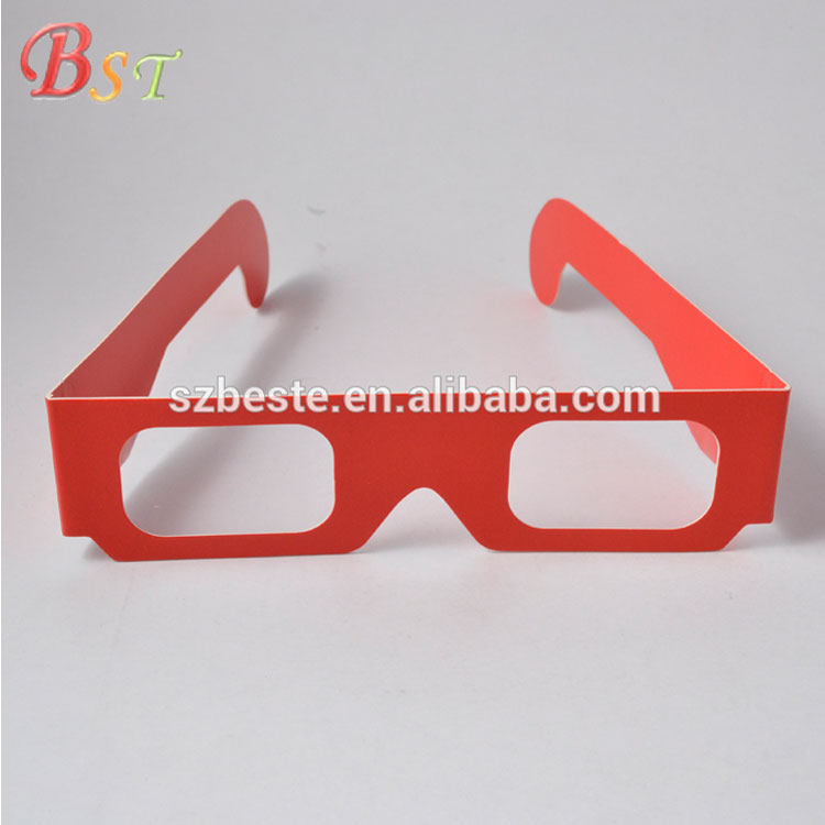 10% discounts 3d cardboard paper foldable diffraction glasses